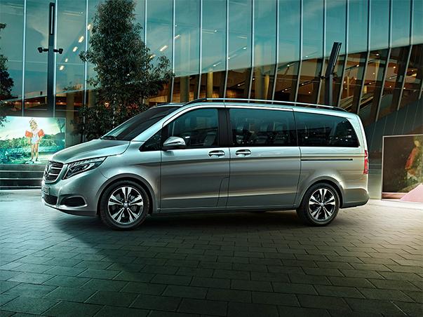 Flughafentaxi Wien Transfer mit dem neuen Mercedes Vito